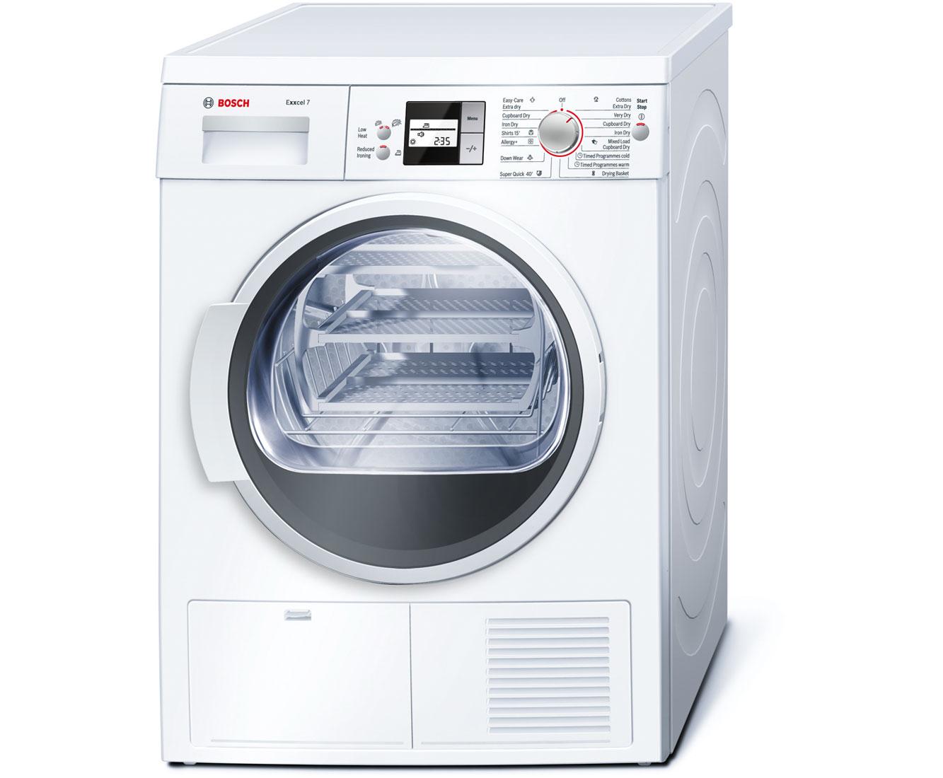 Bosch Dryer bosch wtw87560gb tumble dryerappliance world